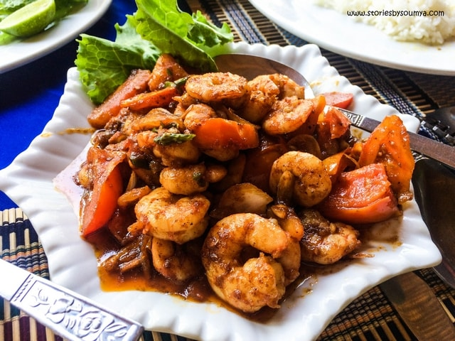 Shrimp Curry in Ngapali | Myanmar Traditional Food | Must-try dishes of Burmese Cuisine | Stories by Soumya